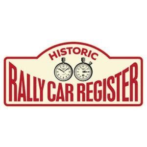 Historic Rally Car Register